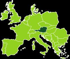 Gli uffici Bertin Spedizioni in Austria