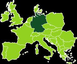 Gli uffici Bertin Spedizioni in Germania
