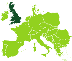 Gli uffici Bertin Spedizioni nel Regno Unito
