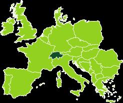 Gli uffici Bertin Spedizioni in Svizzera
